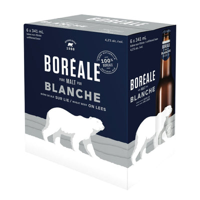 BOREALE BLANCHE BEER WHEAT 6 x 341 ML