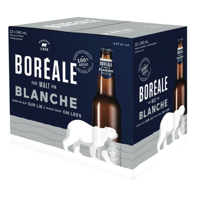 BOREALE SELECTION BEER NATURAL WHEAT 12 x 341 ML
