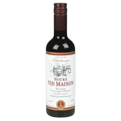 NOTRE VIN MAISON FRUITY AND LIGHT - RED WINE 500 ML