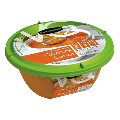 COMMENSAL CARROT SOUP 600 ML
