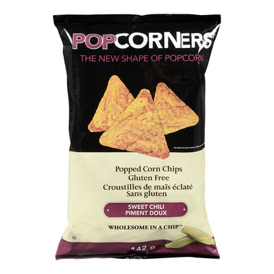 POPCORNERS CHIPS SWEET CHILI GLUTEN FREE 142 G
