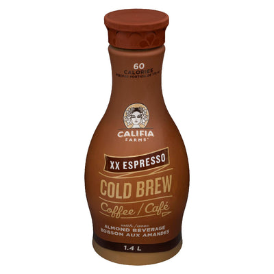 CALIFIA FARMS BEVERAGE ALMOND COFFEE XX ESPRESSO 1.4 L