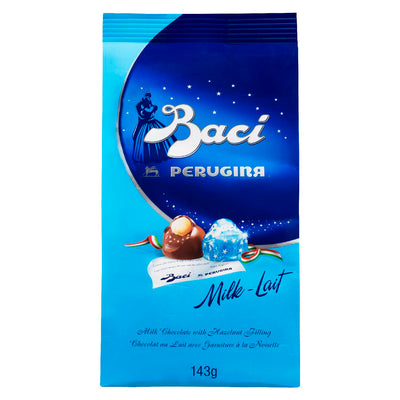 PERUGINA BACI CHOCOLATE MILK HAZELNUT 143 G
