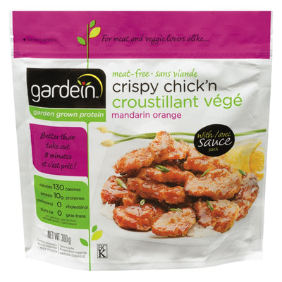 GARDEIN CHICKN CRISPY MANDARIN ORANGE 300 G