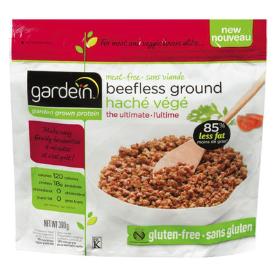 GARDEIN BEEFLESS GROUND ULTIMATE GLUTEN FREE 390 G