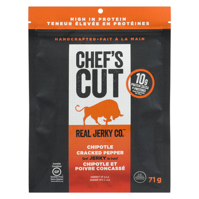 CHEF'S CUT BEEF JERKY CHIPOTLE 71G