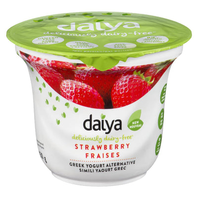 DAIYA GREEK YOGURT ALTERNATIVE STRAWBERRY 150G