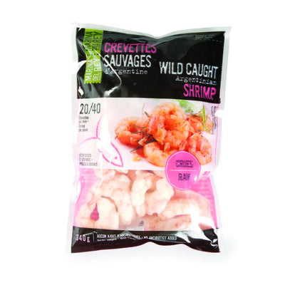 MARINA DEL REY SHRIMPS WILD RAW 340 G