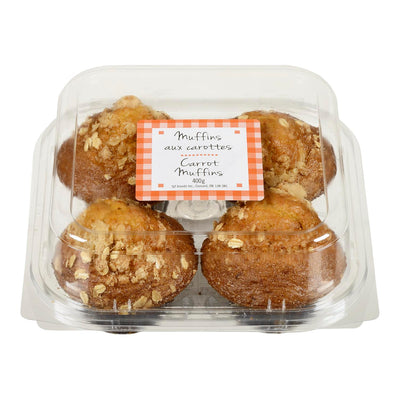FGF MUFFINS CARROT 4S 400 G