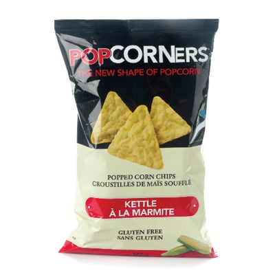 POPCORNERS CHIPS POPPED CORN KETTLE GLUTEN FREE 142 G