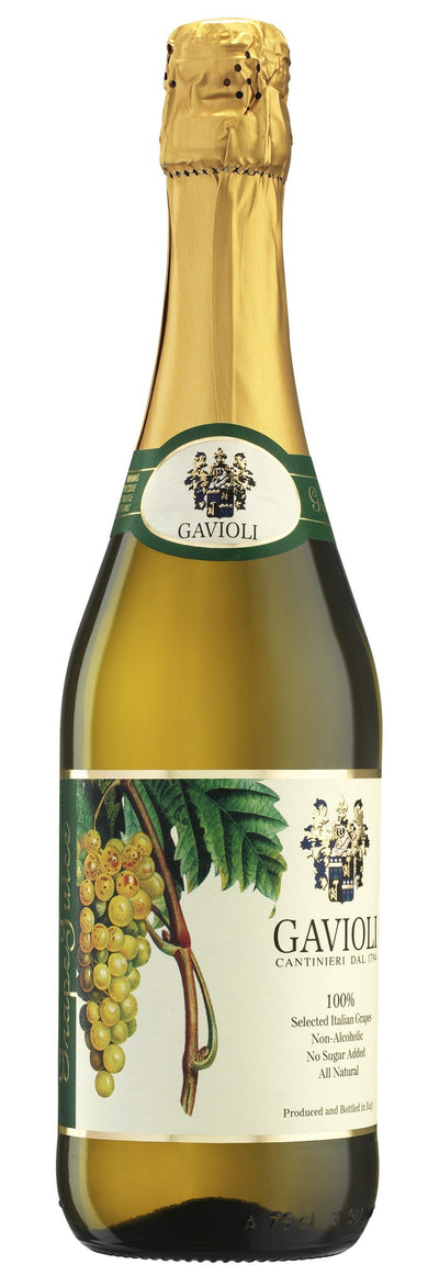 GAVIOLI SPARKLING JUICE RAISIN WHITE 750 ML