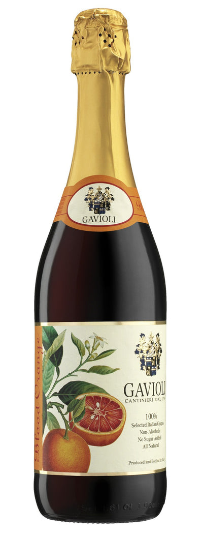 GAVIOLI SPARKLING JUICE BLOOD ORANGE 750 ML