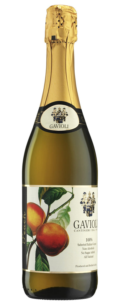 GAVIOLI SPARKLING JUICE PEACH 750 ML