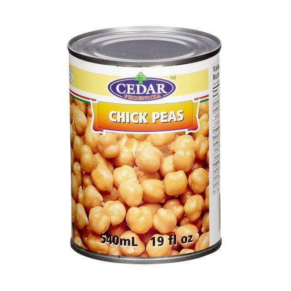 CEDAR POIS CHICHES  540 ML