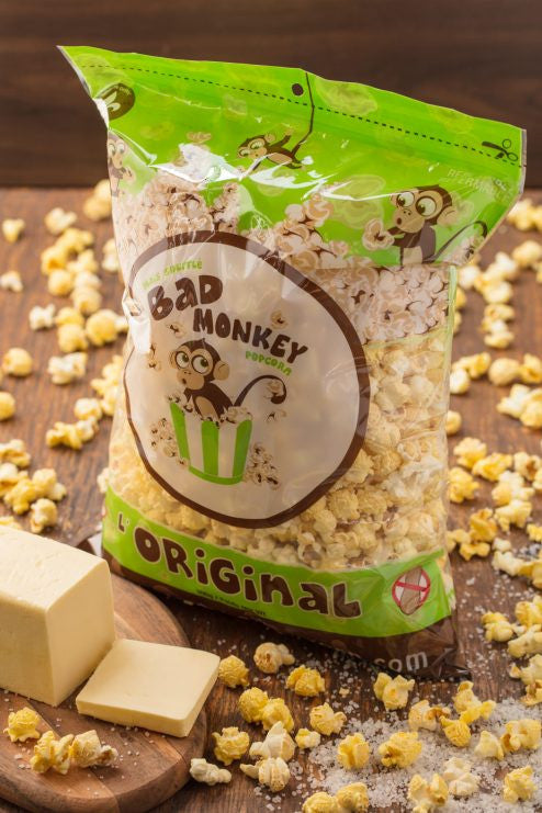 BAD MONKEY ORIGINAL POPCORN 300G