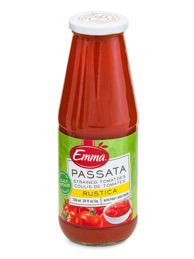 EMMA STRAINED TOMATOES RUSTICA 720 ML