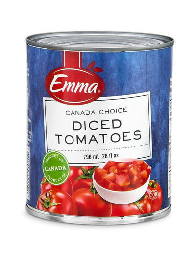 EMMA DICED TOMATOES 796 ML