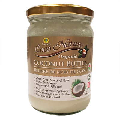 COCO NATURA ORGANIC COCONUT BUTTER 500ML