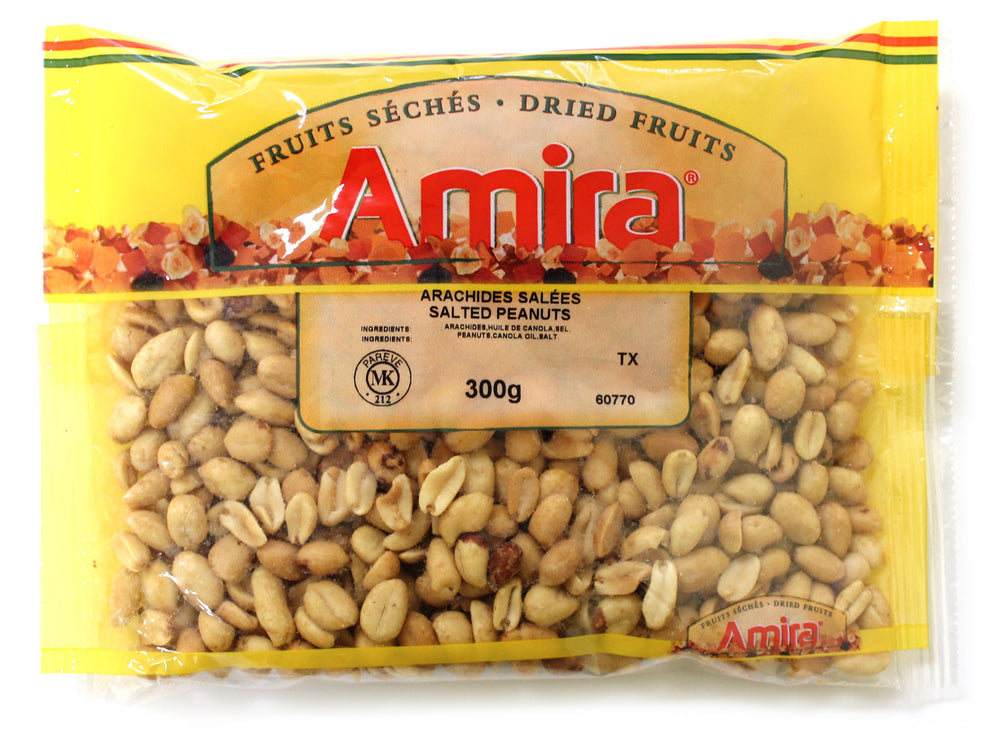 AMIRA SALTED ROASTED PEANUTS 300 G
