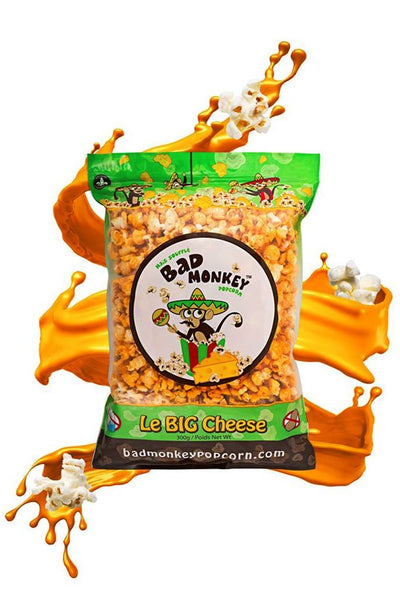 BAD MONKEY POP CORN THE BIG CHEESE 300G