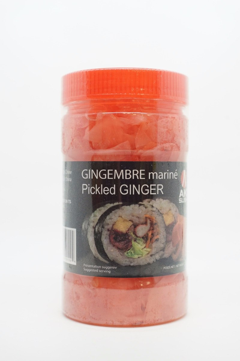 AKI MARINATED GINGER 350 G