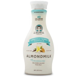CALIFIA FARMS BEVERAGE ALMOND VANILLA UNSWEETENED 1.4 L