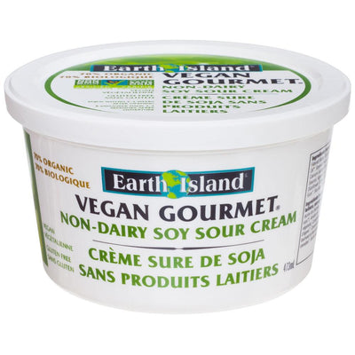 EARTH ISLAND VEGAN SOUR CREAM 473ML