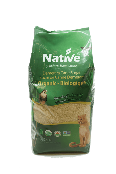 NATIVE SUCRE DE CANNE DEMERARA BIO 1 KG