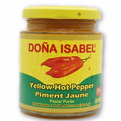 DONA ISABEL PEPPER YELLOW PURÉE 212.6 G