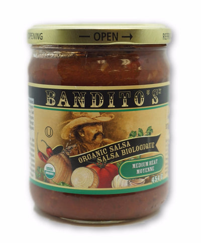 BANDITOS MEDIUM SALSA BIO 454 G