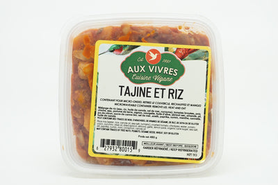 AUX VIVRES TAJINE AND RICE 480 G