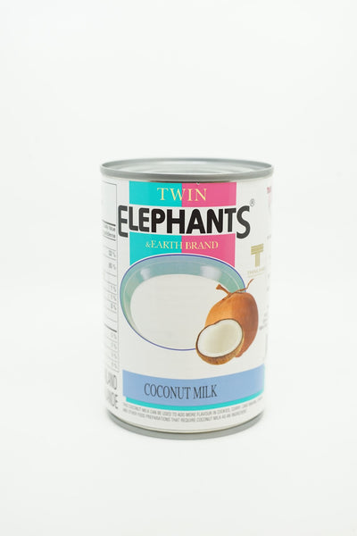 TWIN ELEPHANTS COCONUT MILK 400 ML