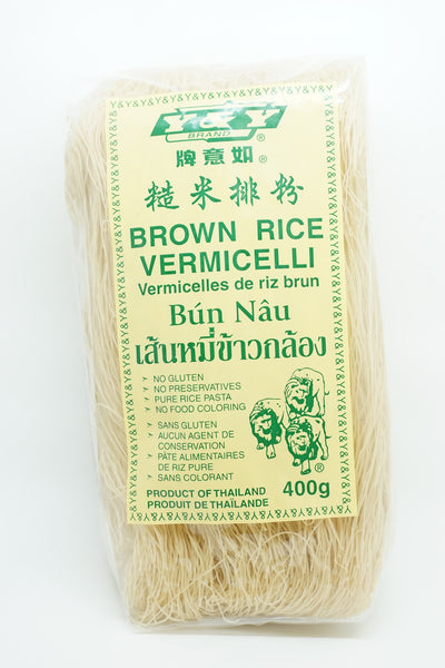 Y & Y RICE BROWN VERMICELLI 400 G