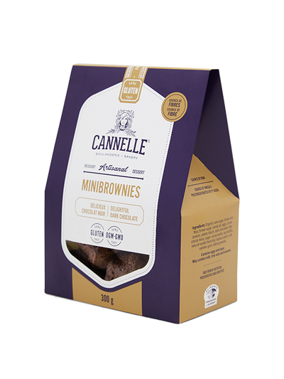BOULANGERIE CANNELLE BROWNIES 300 G