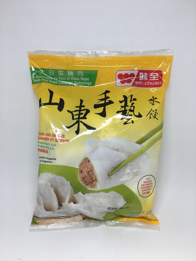 WEI-CHUAN DUMPLINGS PORK AND NAPPA 595 G