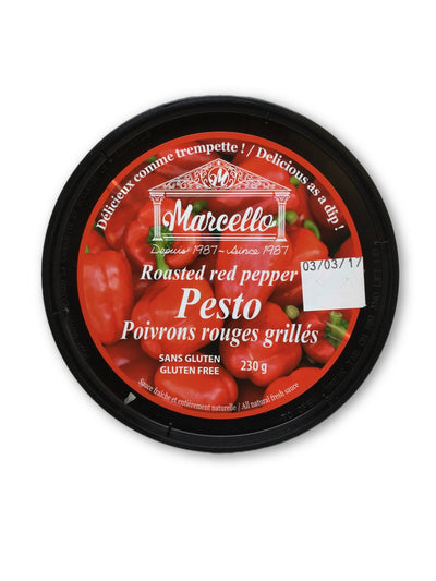 MARCELLO PESTO GRILLED RED PEPPERS 200 G