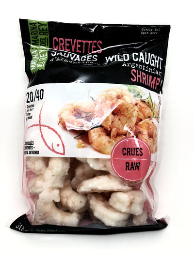 MARINA DEL REY SHRIMPS PINK RAW 340 G