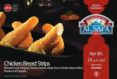 AL SAFA CHICKEN STRIPS 680 G