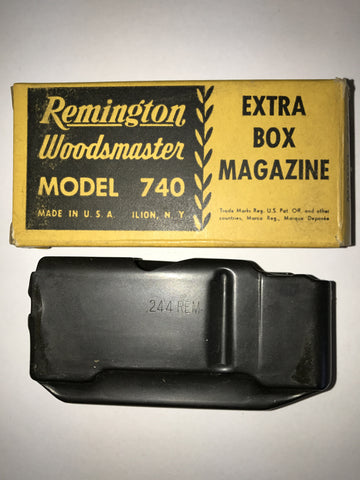 Remington 740 magazine assembly, .244  #606-23738