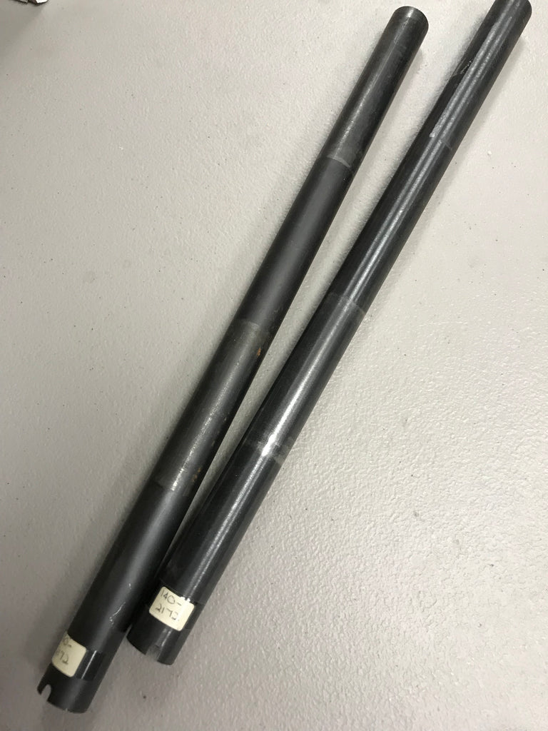 "High Standard 12 ga pump magazine tube 16-3/4"" notched end, no threads, no ring  #140-2172"