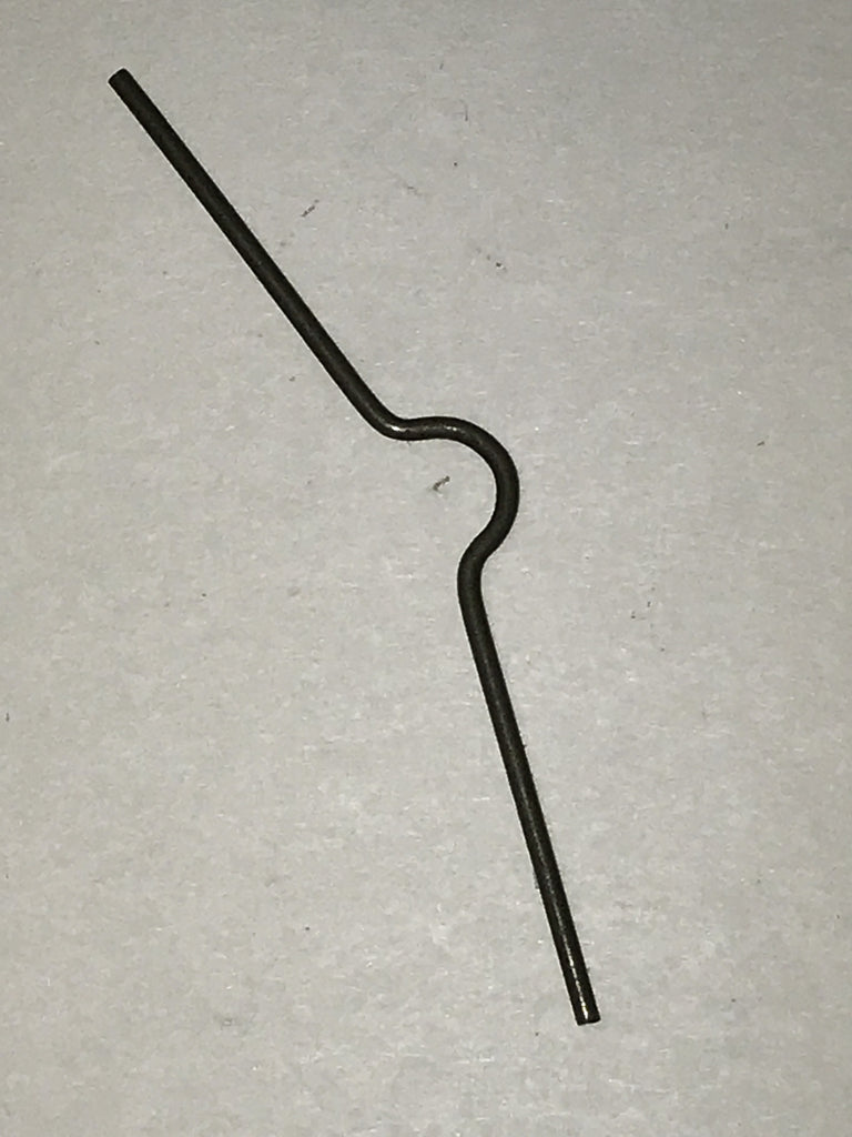 Ithaca 51 carrier pivot retainer spring  #1013-74750