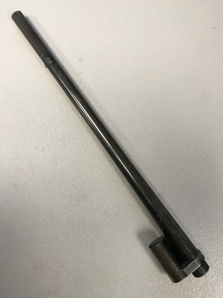 Winchester 12, 16 ga  barrel, used, must be fitted, was full choke, cut to  16-3/4