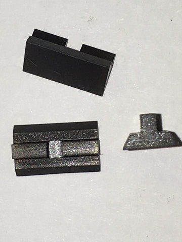 H&R model 949, etc. rear sight blade (dovetail type)  #678-949-215