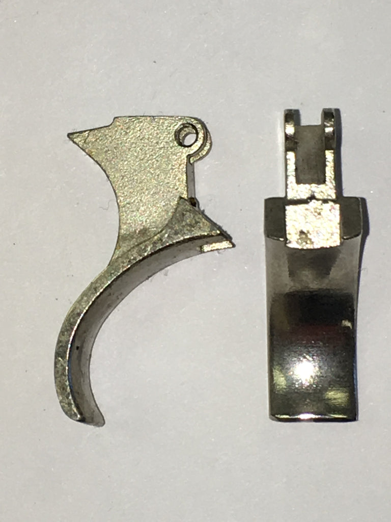 High Standard Derringer trigger, nickel  #254-50224
