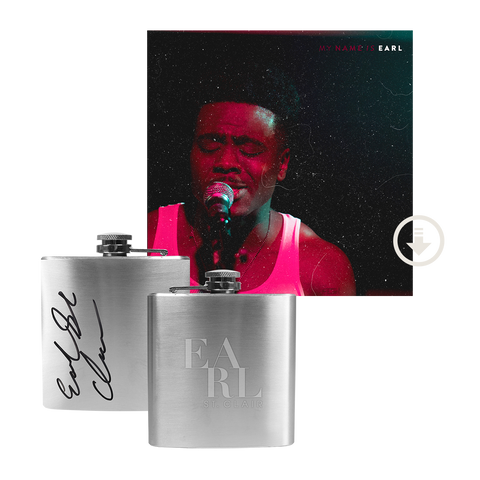 My Name is Earl EP + Signed Flask Bundle