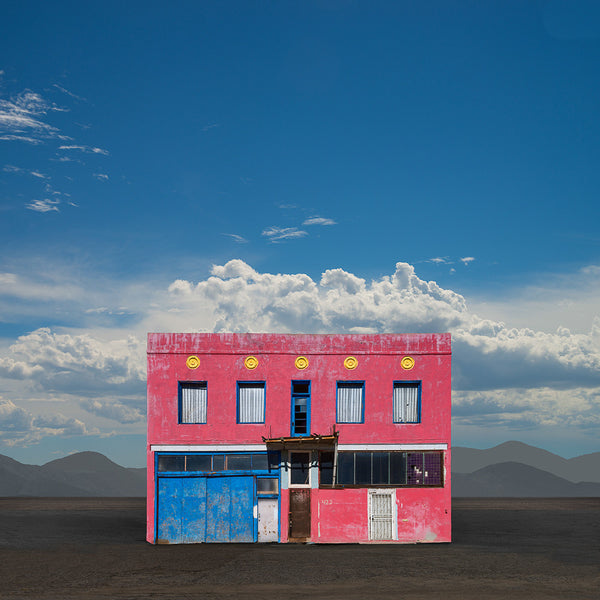 Red Building, Miami, Arizona - Ed Freeman Fine Art