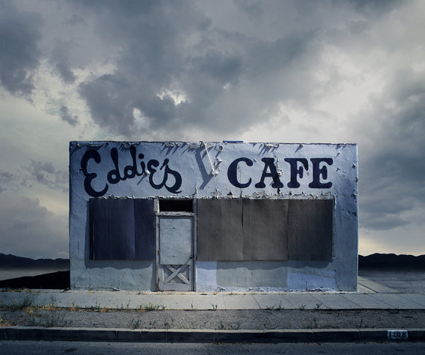 Eddie's Cafe, Santa Paula, California - Ed Freeman Fine Art