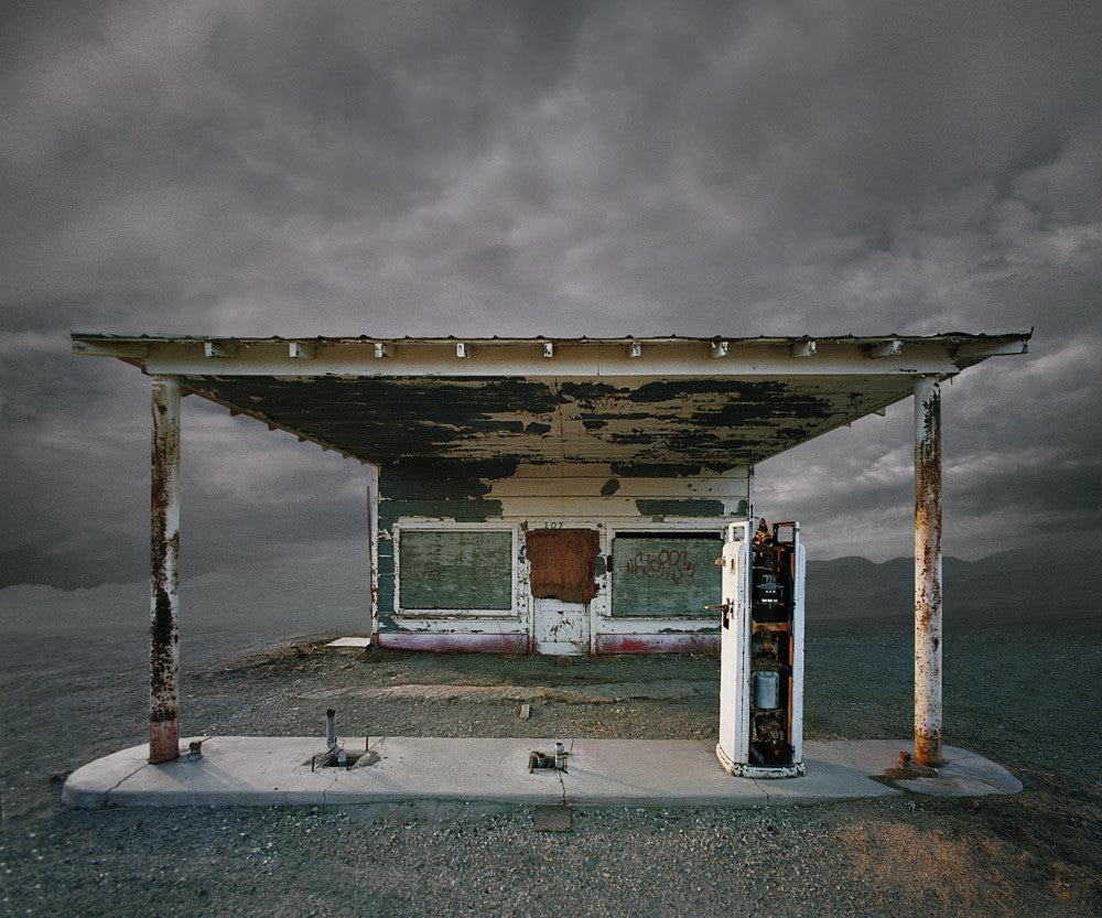 Abandon Gas Station, Niland, California - Ed Freeman Fine Art