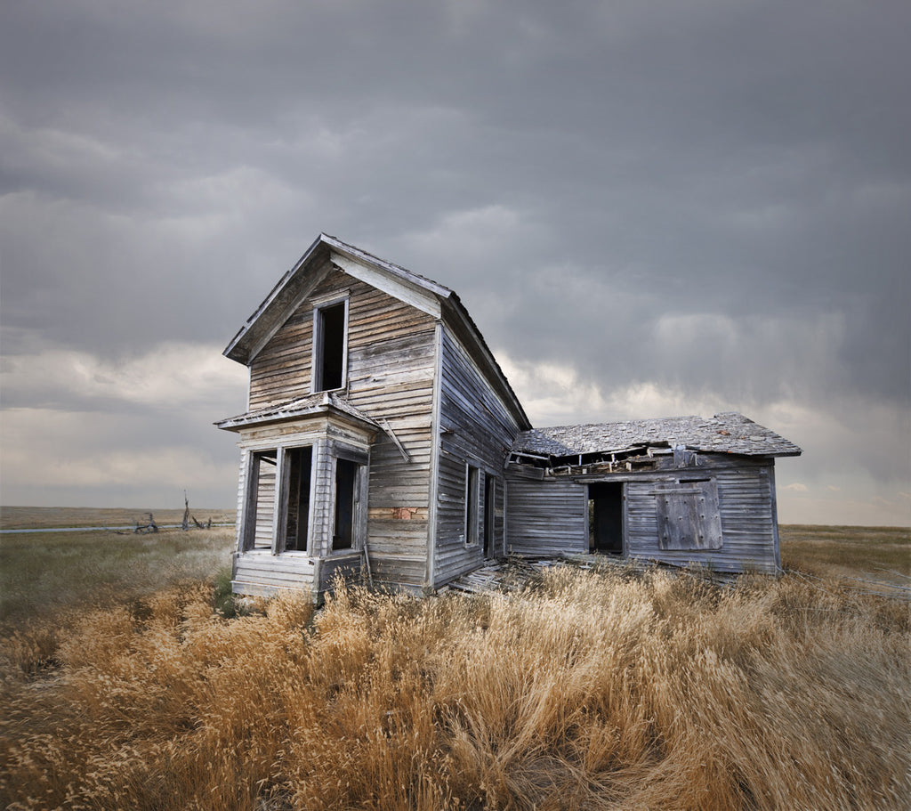 Abandoned Farm House, Nebraska - Ed Freeman Fine Art