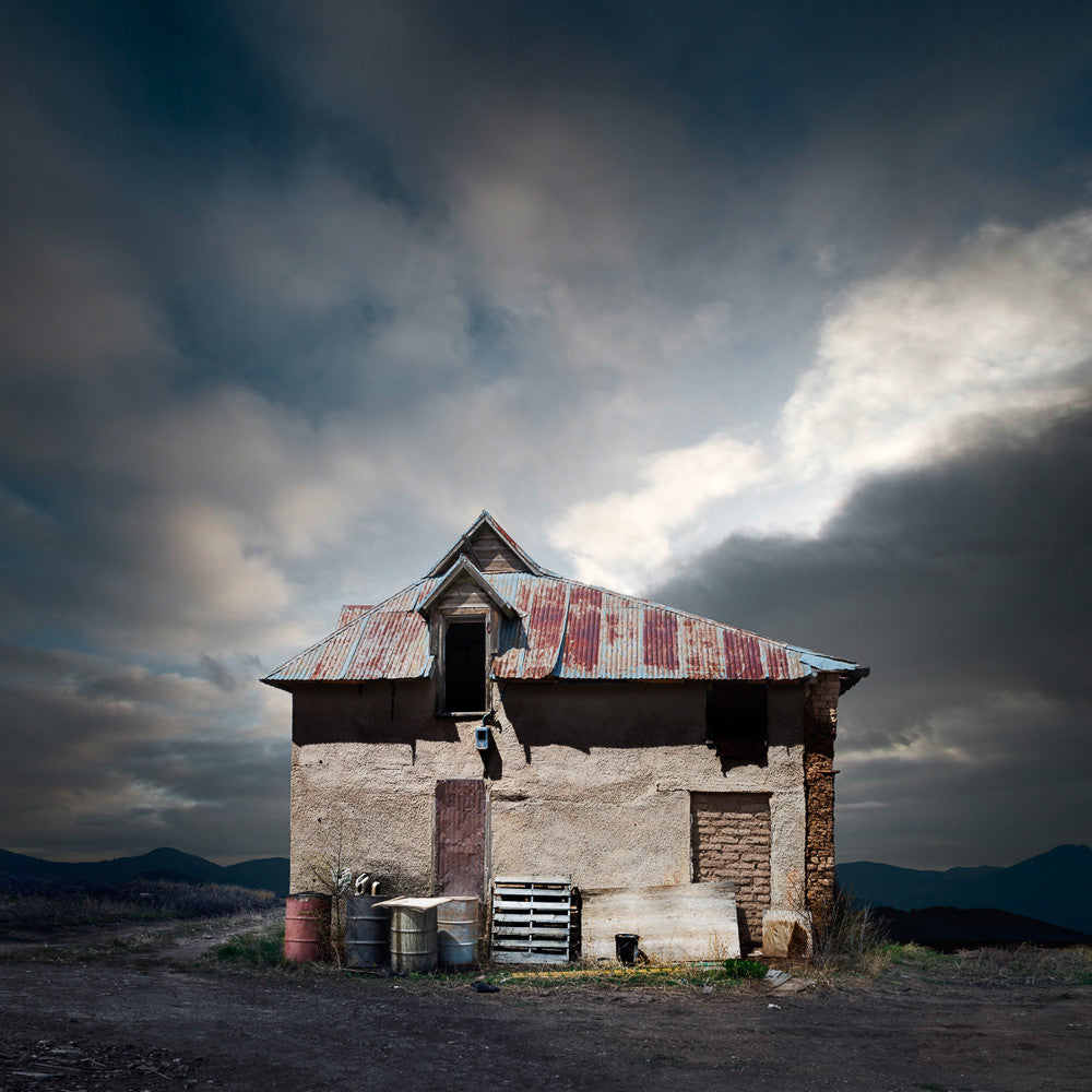 Abandoned House, Wagon Mound, New Mexico - Ed Freeman Fine Art
